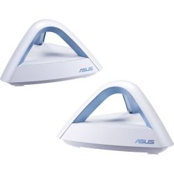 Asus Lyra-Trio AC1750 Dual Band Mesh Wi-Fi System Covers Multi-Story Homes up to 5400 sq. ft., with AiProtection network security, Parental Contro