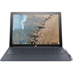 HP ChromeBook x2 - 12.3 inch 2K Touch 2-in-1 Laptop - M3-7Y30, 8GB RAM, 32GB eMMC, WLAN and BT Combo, Pen, 1yr RTB Warranty