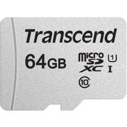 Transcend TS64GUSD300S 64GB UHS-I U1 microSD w/o Adapter (microSDHC I, C10, U1)
