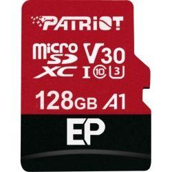 Patriot PEF128GEP31MCX, EP Series 128GB Micro SDXC V30 A1, 3yr