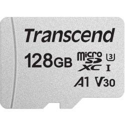 Transcend TS128GUSD300S 128GB UHS-I U3A1 microSD w/o Adapter (microSDXC I, U3, V30, A1)