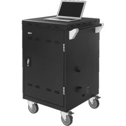 AVerMedia 24 bays, tablets, Laptops ChromeBooks Charge Cart