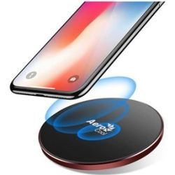 AeroCool Premium Aluminum 7.5W Designed for Apple Wireless Fast Charger