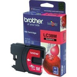 Brother LC38M Magenta Ink Cartridge (0.26K) - GENUINE