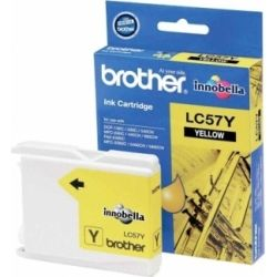 Brother LC-57Y LC57Y Yellow Ink Cartridge (0, 4K) - GENUINE