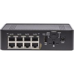 Dell X1008P, 8-Port L2+ Smart Web Managed Switch, GbE PoE(8), Life WTY