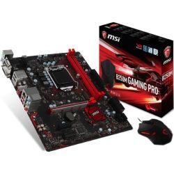 MSI B250M GAMING PRO MATX Motherboard - S1151 7Gen 2xDDR4 1xPCI-E HDMI/DVI/VGA 1xM.2 TypeC CF - FREE MSI DSB1 Gaming Mouse In