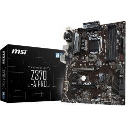 MSI Z370-A PRO ATX Motherboard - S1151 8Gen 4xDDR4 6xPCI-E DP/DVI/VGA M.2 CF TPM