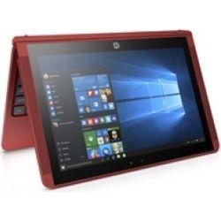 HP ProBook x360 11 EE G1 2-in-1 Laptop - Celeron N3350 Dual Core 1.1 GH, 4GB RAM, 128GB, Win10, 1yr Wty - Red