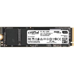 Crucial P1 1TB M.2 (2280) NVMe PCIe SSD - 3D NAND 2000/1700 MB/s Acronis True Image Cloning Software via Download