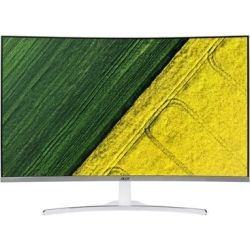 Acer Gaming FREE SYNC 31.5 inch FHD Curve Monitor - 1920x1080, 16:9 VA, 4ms, 250 nits, 100 million:1, DVI, VGA, HDMI, Speakers(3Wx2), 3yr MAIL IN Wty - Silver