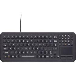 iKey SB-97-TP SkinnyBoard Rugged Sealed Keyboard with Touchpad