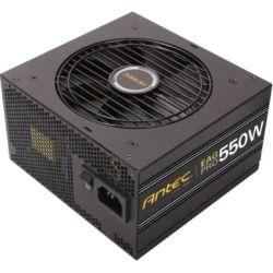 Antec EA550G Pro 550w 80+ Gold PSU Semi-Modular, 120mm Silence Fan, Japanese Caps, 7yr Wty