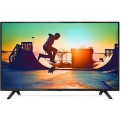Philips 6000 series, 126 cm (50) 4K Ultra Slim Smart LED TV with Pixel Plus Ultra HD, Quad Core, DVB-T/T2, 3 Year Onsite Warranty