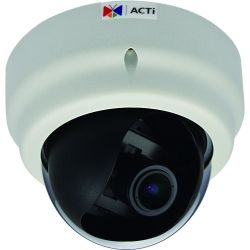 ACTi E67A 2MP Indoor Dome VARI 1080P/30FPS, SDHC, D/N, WDR SLLS, F2.8-12MM/F1.4, DNR, IR