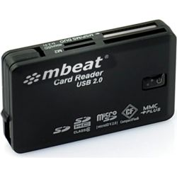 mbeat USB 2.0 All In One Card Reader