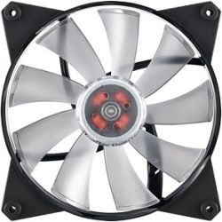 CoolerMaster MasterFan Pro 140mm Air Flow RGB Fan, Certified Compatible with Asus, Gigabyte MSI and AsRock RGB motherboard