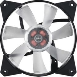 CoolerMaster MasterFan Pro 120mm Air Flow RGB Fan, Certified Compatible with Asus, Gigabyte MSI and AsRock RGB motherboard