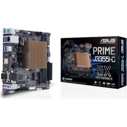 Asus PRIME J3355I-C Intel Celeron Dual-Core SoC fanless microATX Motherboard with 5X Protection HDMI VGA SATA 6G
