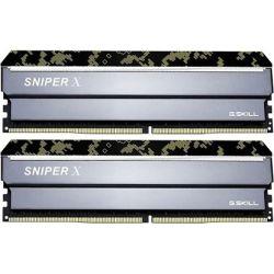 DDR4-3600 16GB Dual Channel [Sniper X] F4-3600C19D-16GSXKB