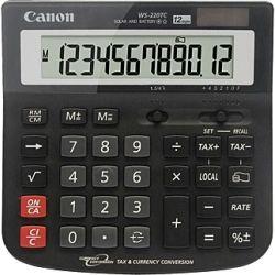 Canon WS220TC 12 Digit Wide Desktop Calculator