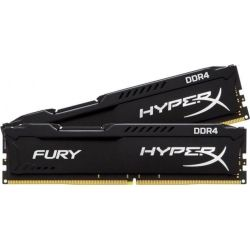 Kingston HyperX Fury Black 16GB 2666MHz DDR4 CL16 DIMM (Kit of 2) 1RX8