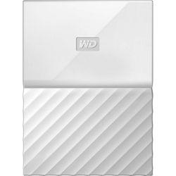 WD My Passport 2TB Portable Hard Drive HDD - USB 3.0, 3yr Wty - White