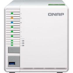 Qnap TS-332X-2G, 3-Bay NAS - AL-324, 2GB, USB, 10GbE SFP+(1), GbE(2), Tower, 2yr Wty (No Disk)