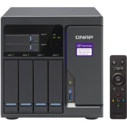 Qnap 6-Bay TurboNAS - SATA 6G, Core i3-6100 3.7 GH, 8GB RAM, 4-LAN, 10G-ready, iSCSI, 250W Single Power supply, 2yr AR Wty