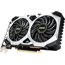 MSI nVidia Geforce GTX 1660 Ti VENTUS XS 6G OC GDDR6 7680 x4320 3xDP1.4 1xHDMI2.0b 1830 MHz TORX Fan 2.0 G-SYNC HDR VR