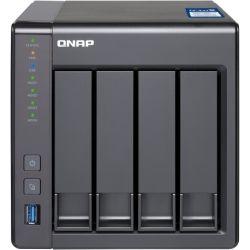 Qnap 4-Bay Turbo NAS - Alpine Quad Core 1.7GHz, 10GbE, 2GB RAM