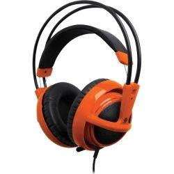 SteelSeries Siberia v2 USB Full Size Multipurpose Gaming Headset - Heat Orange