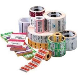 Zebra LABEL Paper 3X1.75IN 76.2X44.5MM DT Z-PERFORM 2000D VALUE COATED ALL-TEMP ADHESIVE 0.75IN 19.1MM CORE 350/ROLL 36/BOX PLAIN
