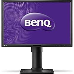 BenQ 24 inch IPS LED Monitor - 1920x1200, 16:10, 5ms, DisplayPort, DVI, VGA, Height Adjust, VESA, Speakers, 3yr Wty