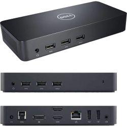 Dell D3100 Ultra HD 4K USB 3.0 Docking Station, 65W PSU - 12 Mth Wty