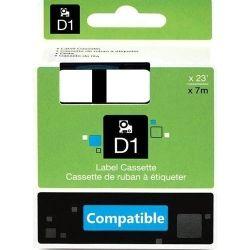 Compatible Dym Blk on Clr 12mmx7m