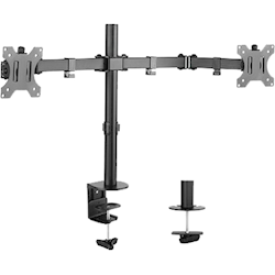 4Cabling Double Arm Double Joint Monitor Bracket
