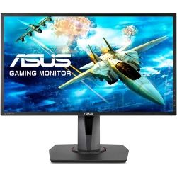 Asus MG248QR 24 inch Gaming Monitor - 1920x1080, 16:9, 1ms, 144Hz Eyecare Adaptive-Sync Height Adjust, Speakers GamePlus DisplayPort HDMI Game Visual Computer Components