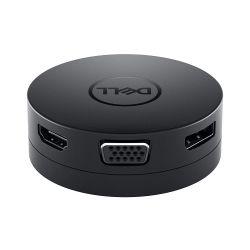 Dell Mobile USB-C DA300 - Display Port, HDMI, VGA, Ethernet, USB-C, USB3.0 - 12 Mth Wty (New - Open Box)