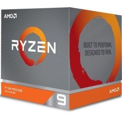 AMD Ryzen 9 3900X, 12-Core/24 Threads, Max Freq 4.6GHz,70MB Cache Socket AM4 105W, with Wraith Prism Cooler