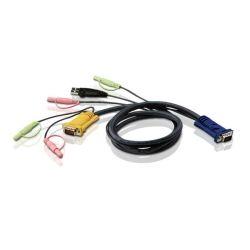 Aten 1.8m USB KVM Cable with Audio to Suit CS173xB, CS173xA, CS175x'