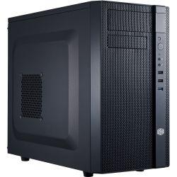 CoolerMaster N200, MATX, Black BEZEL+INTERIOR, USB3.0 X1, USB2.0 X2, 120mm Fan X2, 120MM
