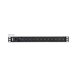 Aten (PE0112G-AT-G) 12-Port 1U Basic PDU Supports up to 10A with 12 IEC C13 Outputs