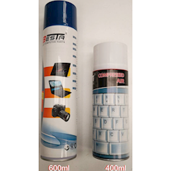 Powertek Air Duster 600ml for Cleaning Keyboards PCs Laptops and Other Equipments