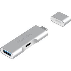 mbeat Attach Duo Type-C to USB 3.1 Adapter with Type-C Port
