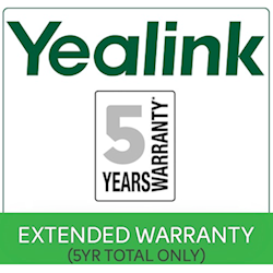 5yr Extended Return to Base (RTB) Yealink Warranty