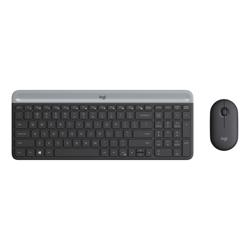 Logitech MK470 Slim Graphite Wireless Keyboard and Mouse