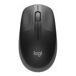 LOGITECH M190 WIRELESS MOUSE PLUG AND PLAY, 2.4GHZ NANO RECEIVER - CHARCOAL - 1YR WTY