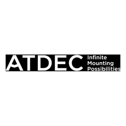Atdec Wall Channel 60mm Metallic Black