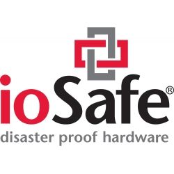 ioSafe 216 NAS 8TB - Two bay (2x 4Tb) fireproof/waterproof NAS device with RAID 1, powered by Synology with 1yr DRS